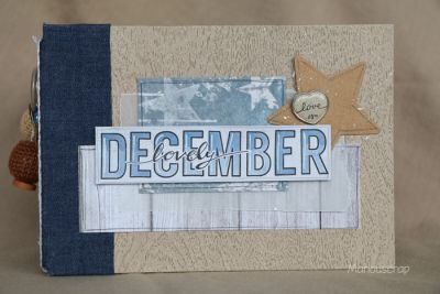 Kits et Tutoriels Scrap : Lovely December