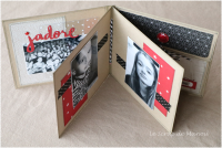 Kits et Tutoriels Scrap : Carte-Album CD.